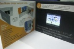 2.8inch video business card