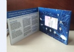 4.3inch Video Brochure in blue